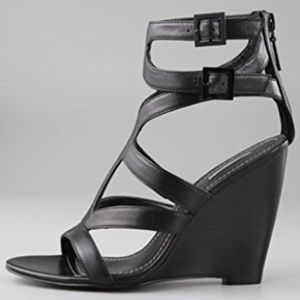 Report Signature Shoes - Report Signature Mazeau Wedge Strappy Sandals